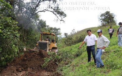 """Apertura de Trocha Carrozable Caserío San Miguel – Jaguay"""""""