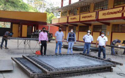 Supervisión de obra en I.E San Juan