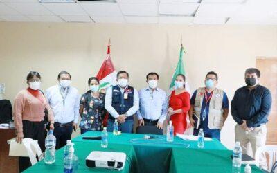 Reunión de Coordinación y Ejecución del Plan de Respuesta Frente a un Probable Tercera Ola Pandémica por COVID-19.